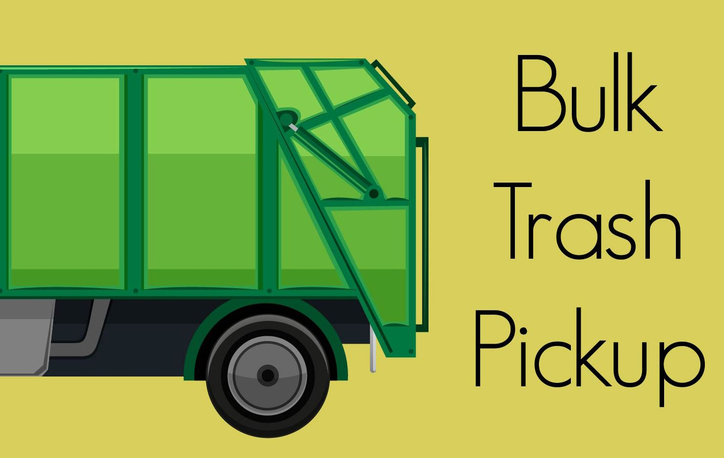 News Section Template - 2018 Bulk Trash Pickup