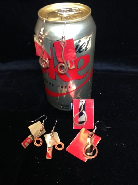 Soda Can Earrings Ex 1