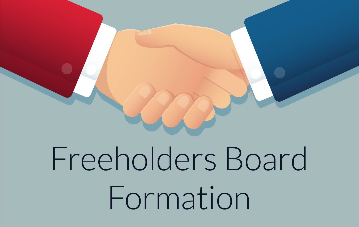Freeholders Board Formation