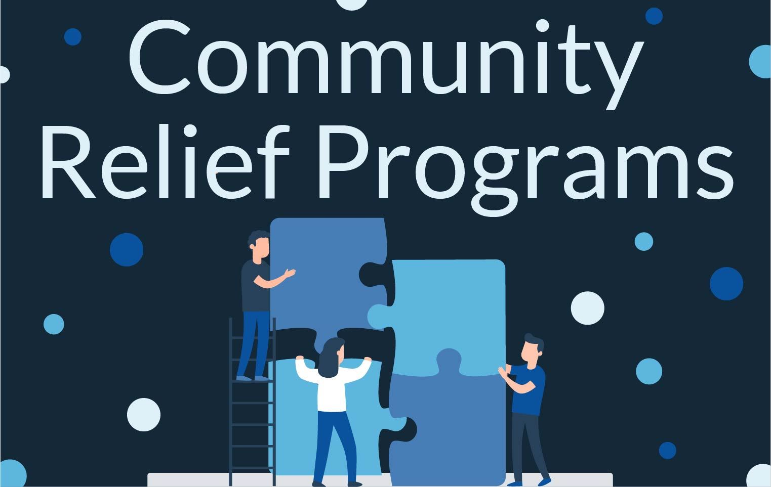 News Section Template - Community Relief Programs