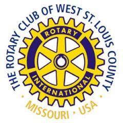 The Rotary Club of West St. Louis County Logo