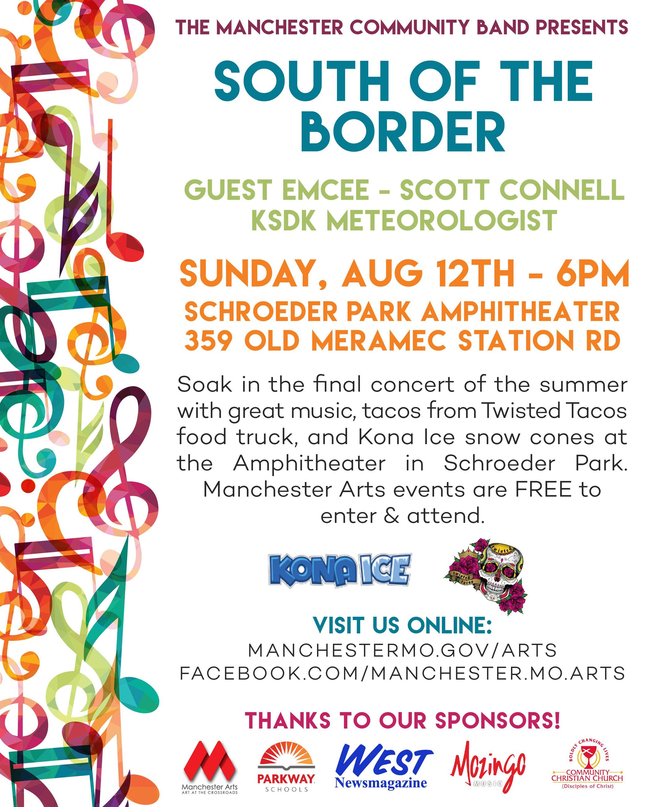 Concert 3 Flyer - South of the Border